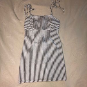 Pac sun stripped cocktail dress!